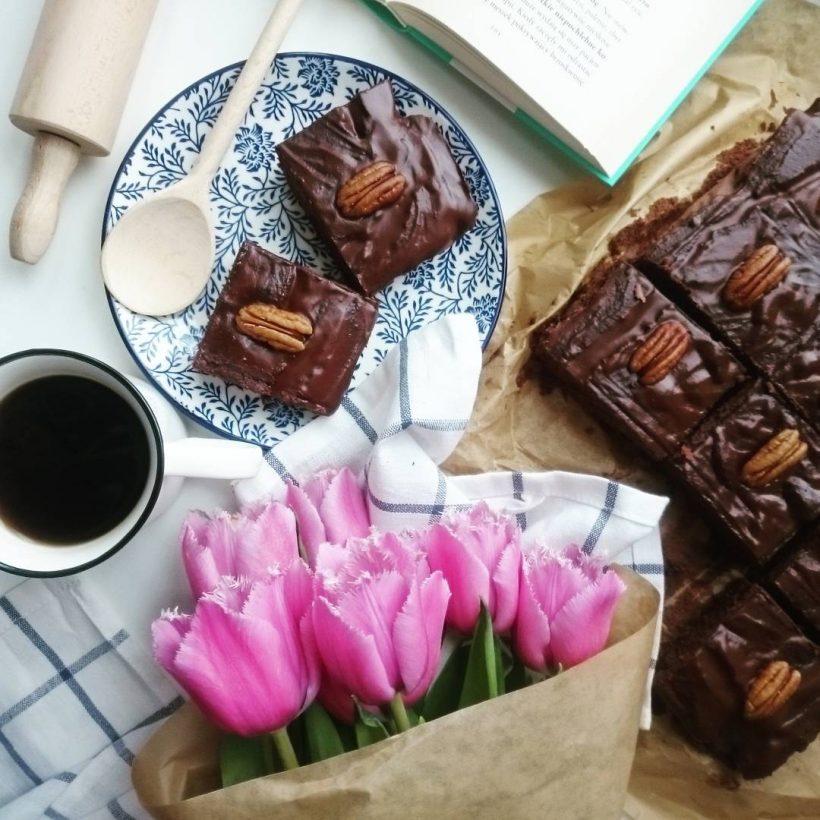 przepis na zdrowe brownie z fasoli