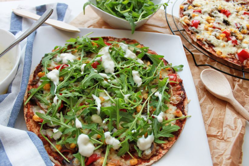 fit pizza na tortilli - przepis na sukces