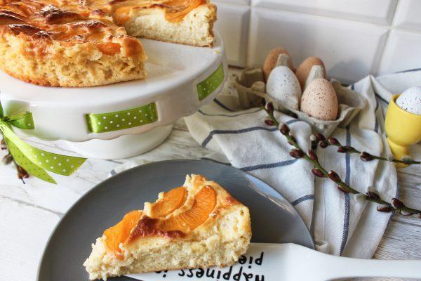 przepis na zdrową Wielkanoc - zdrowy jaglanik z brzoskwiniami