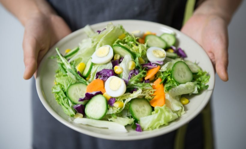 porcja warzyw - zdrowe plany na fit w lato