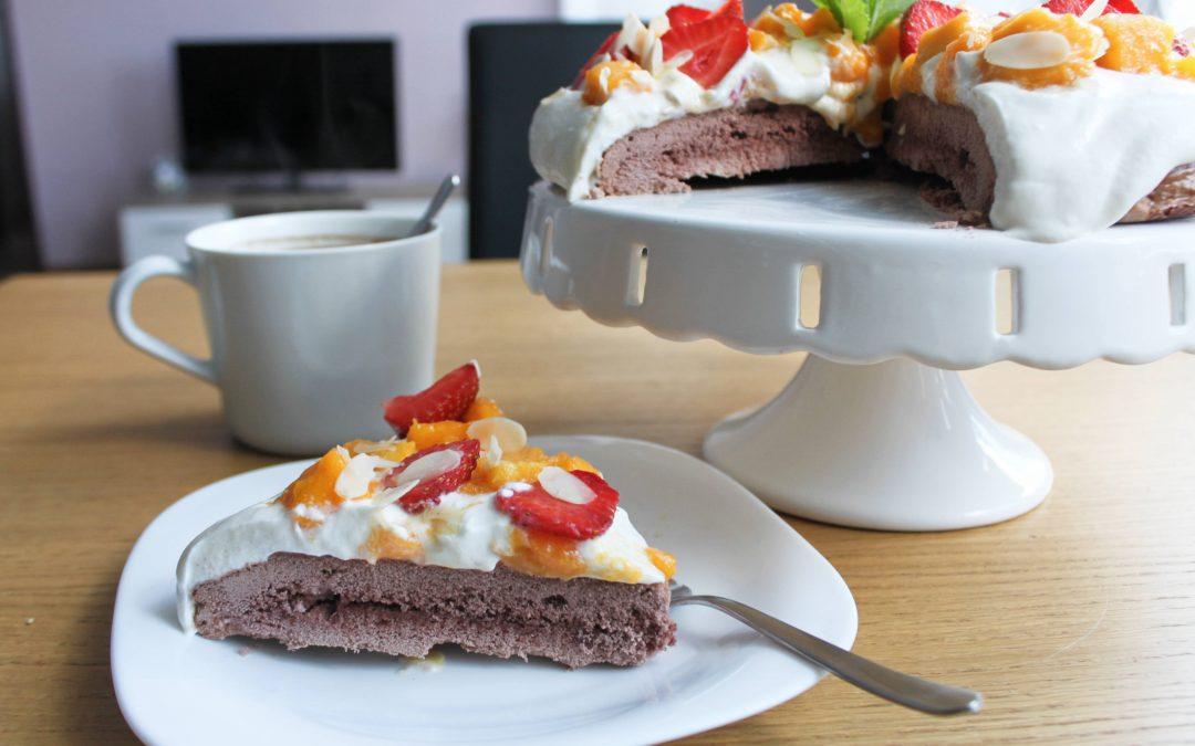 Fit tort bezowy