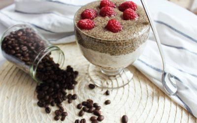 Wegańskie Tiramisu Chia – bez cukru, mąki i nabiału