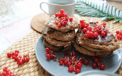 Bezglutenowe racuchy – bez cukru i nabiału!