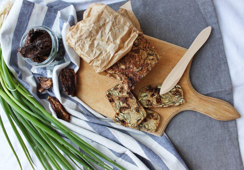 przepis na bezglutenowy chleb z kaszy jaglanej i gryczanej