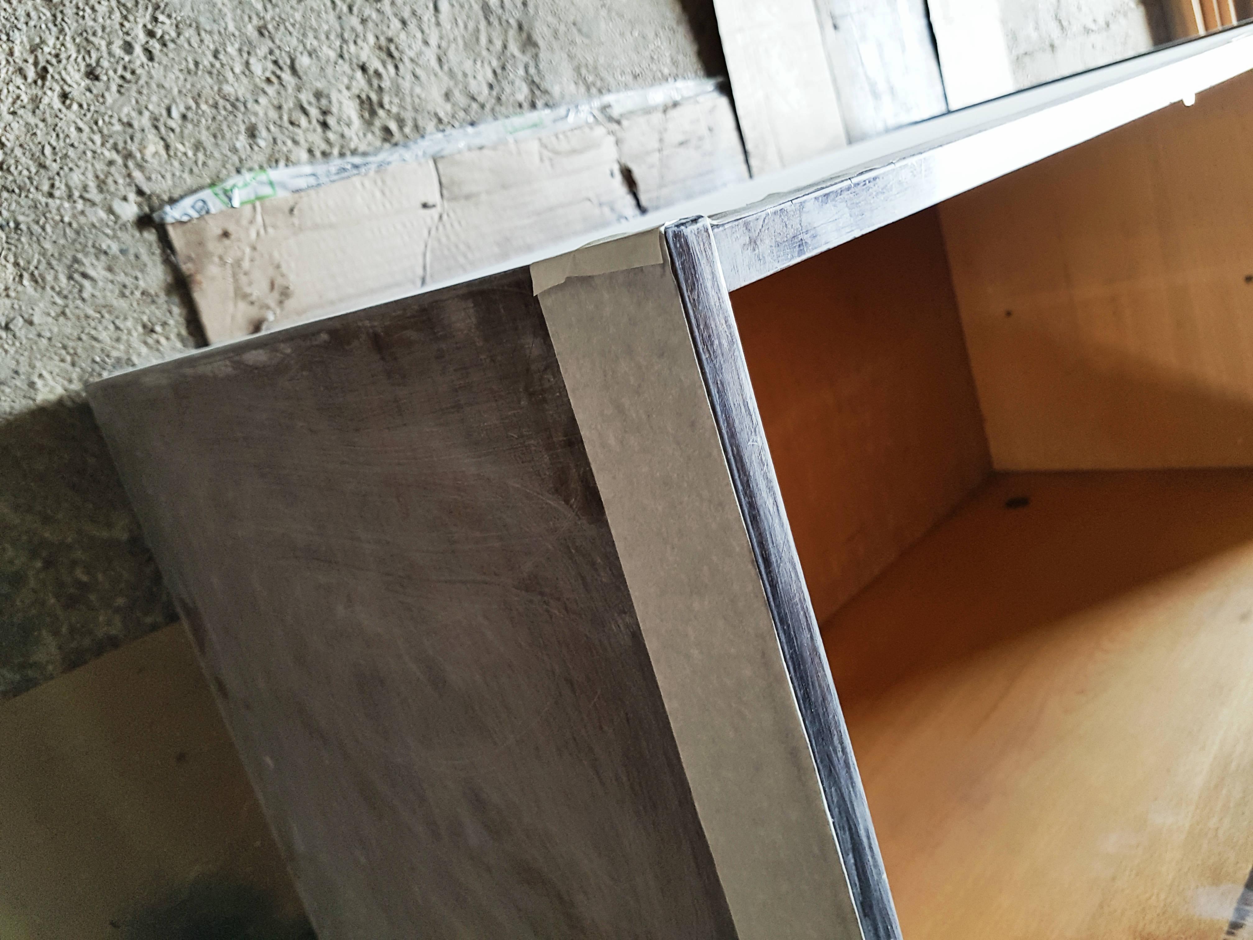 DIY szafka PRL - jak pomalować szafkę PRL