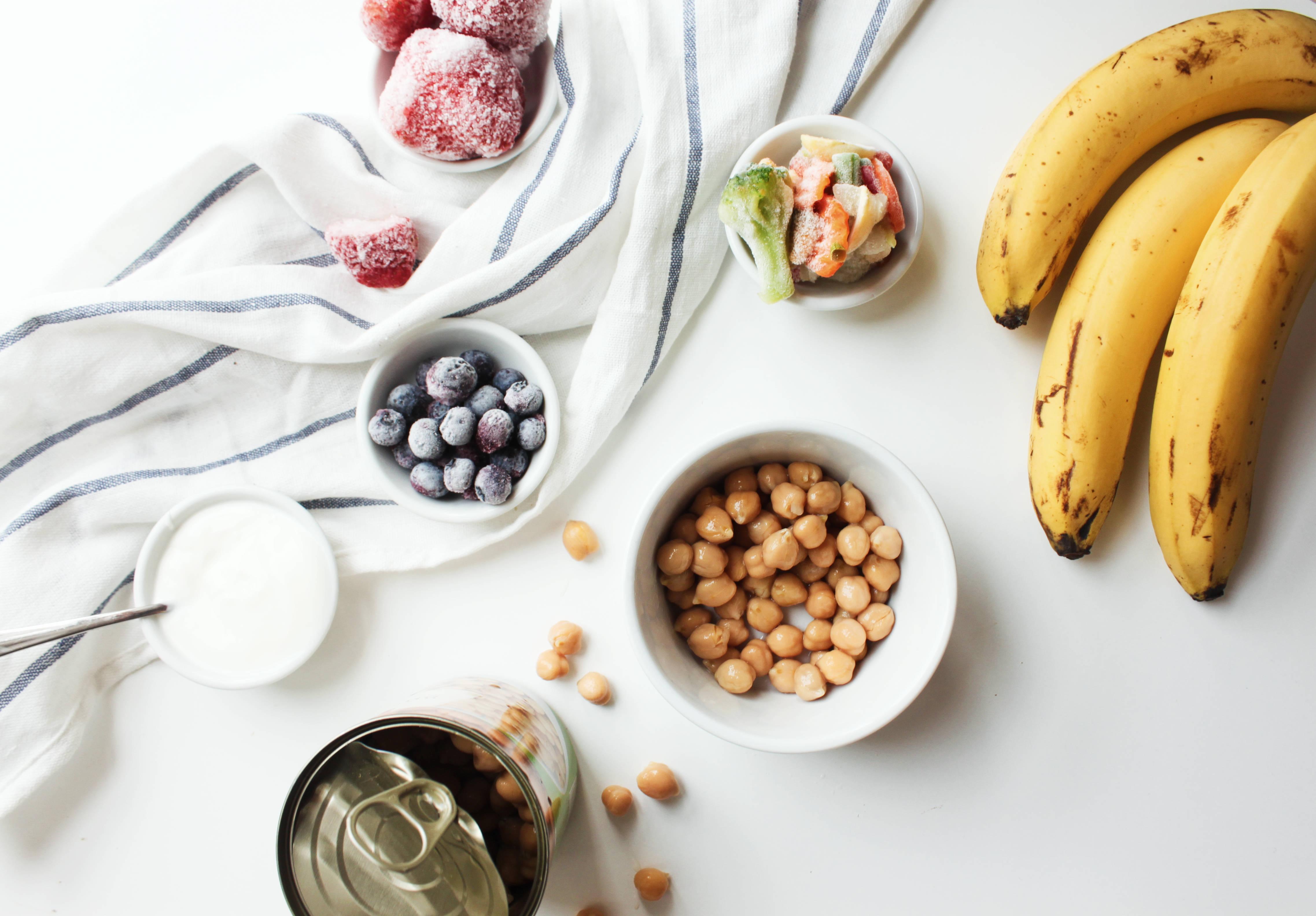 co zawsze mam w kuchni - zdrowe produkty