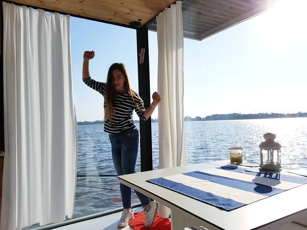 domki na wodzie Mielno