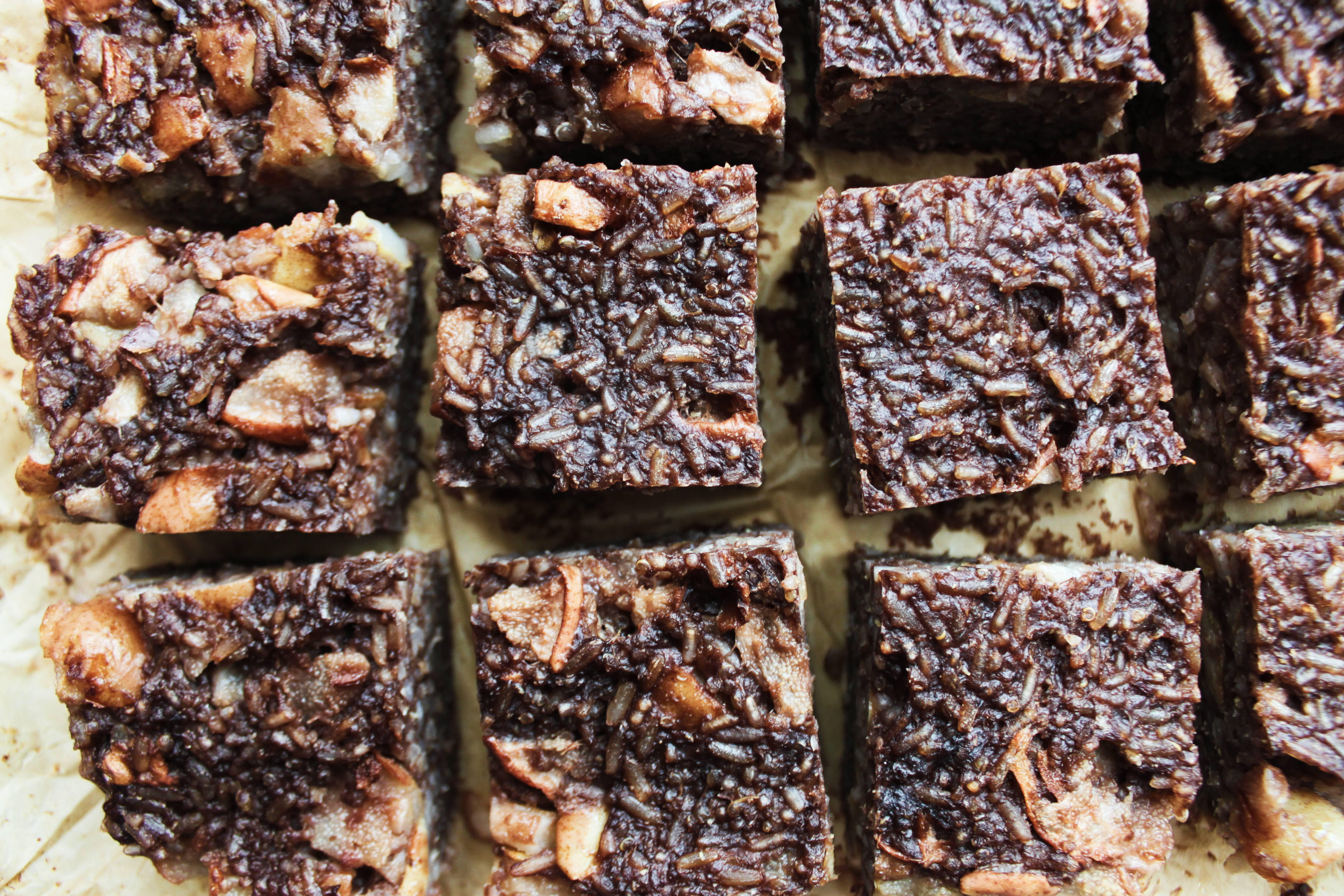 przepis na bezglutenowe czekoladowe ciasto ryżowe