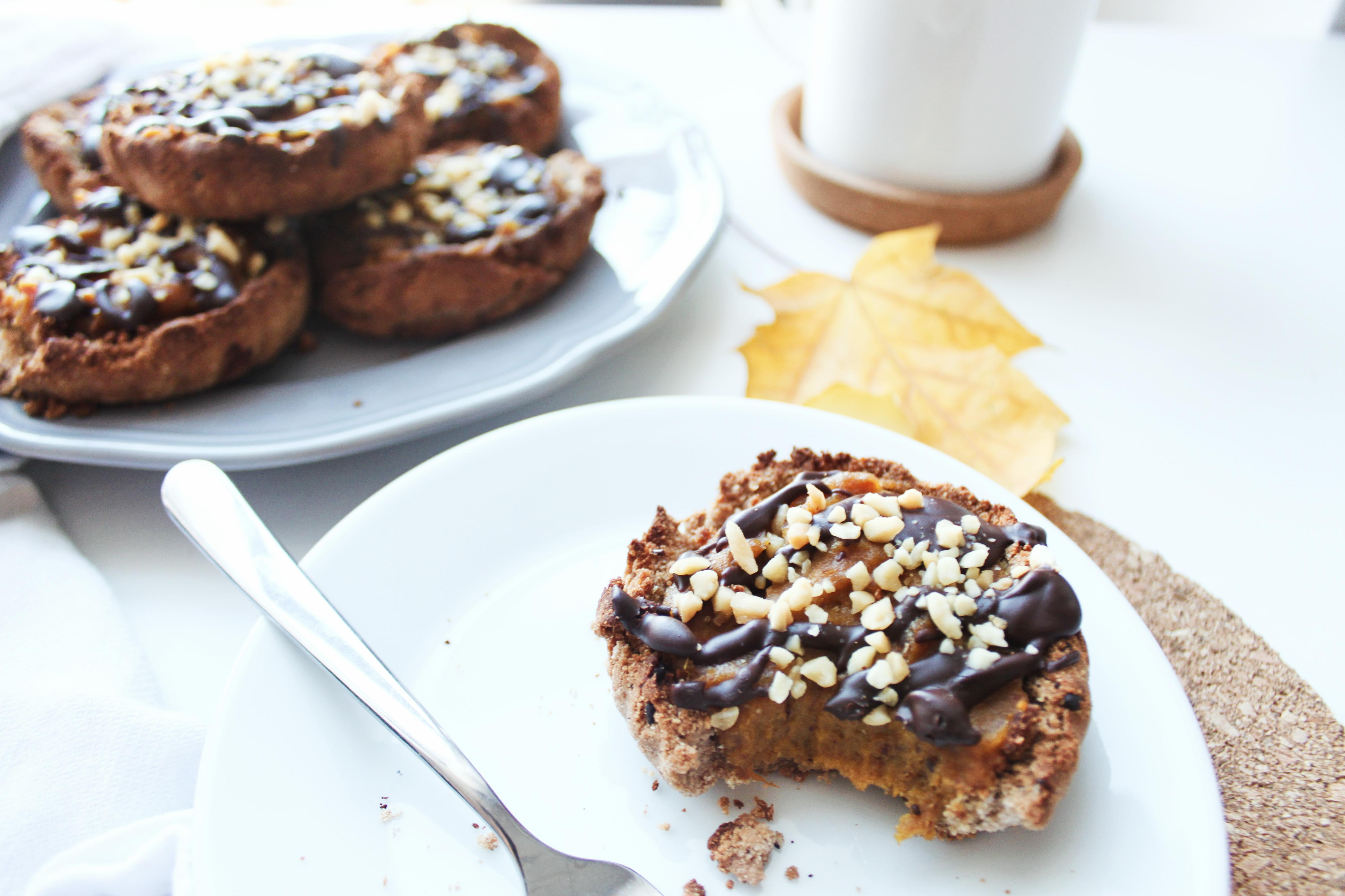 przepis na fit kokosowe ciasteczka z karmelem dyniowym