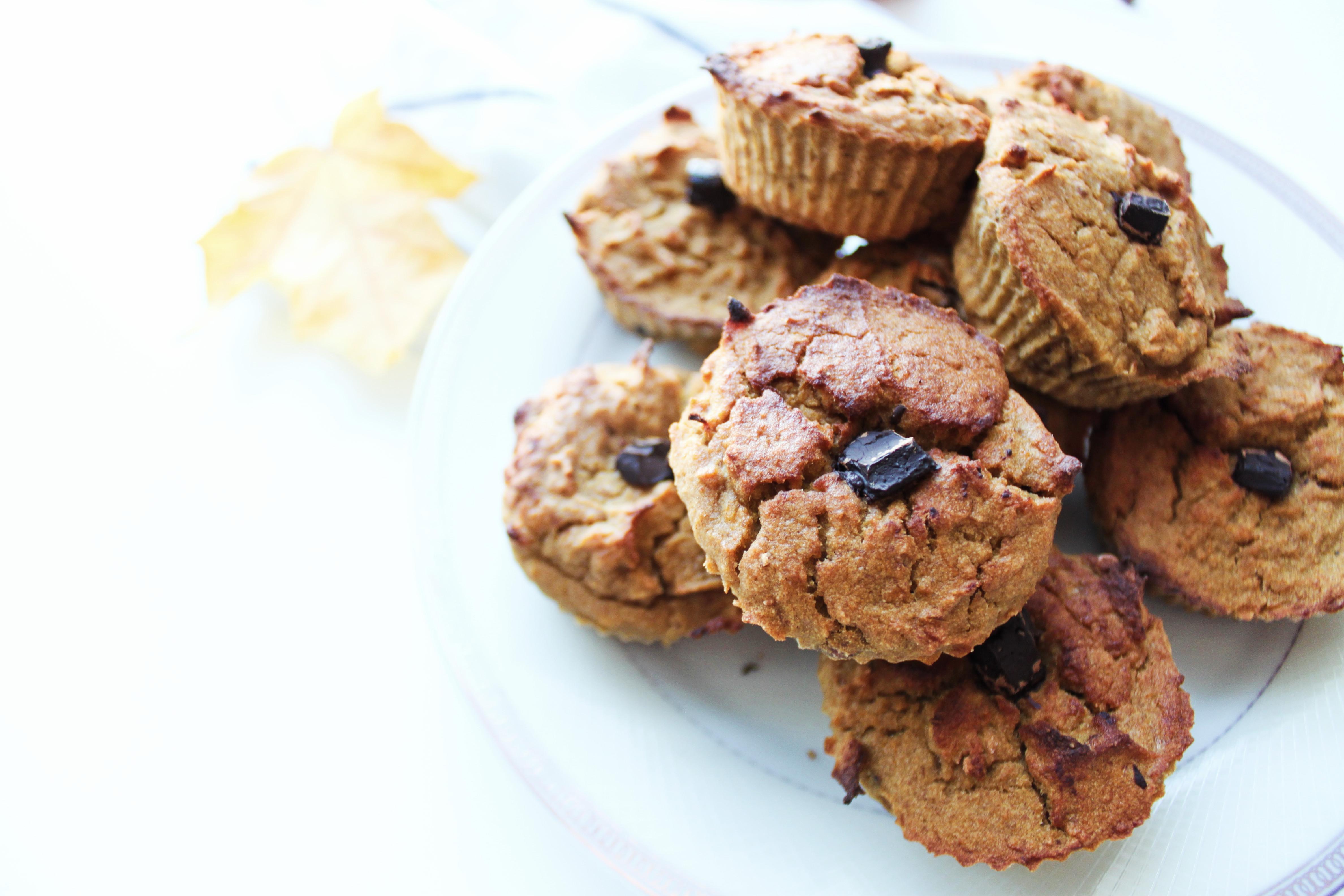 szybki i prosty sposób na bezglutenowe muffiny dyniowe