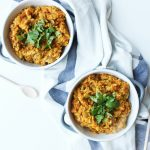 Risotto dyniowe z curry
